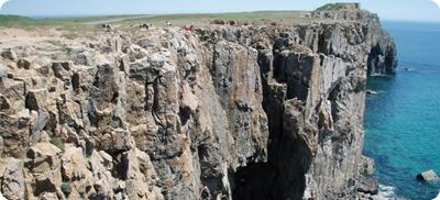 Rock and Sun Rock Climbing Holiday Rock Climbing Courses UK Pembroke