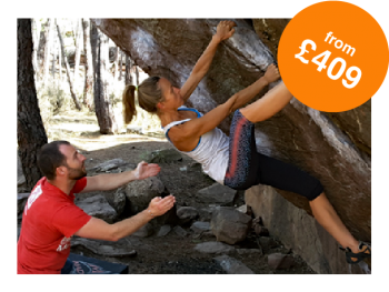 Rock and Sun Rock Climbing Holidays Rock Climbing Courses Bouldering from £409-01