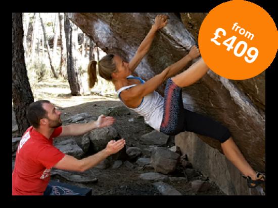 Rock and Sun Rock Climbing Holidays Rock Climbing Courses Bouldering from £409-01