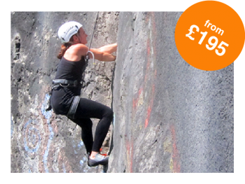 Rock and Sun Rock Climbing Holidays Rock Climbing Courses Intro To Climbing UK from £195