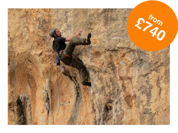 Rock and Sun Rock Climbing Holidays Rock Climbing Courses Performance Coaching £740-01