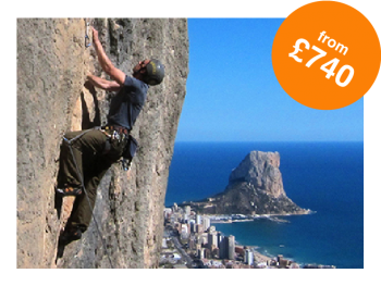 Rock and Sun Rock Climbing Holidays Rock Climbing Courses Sport Climbing Holiday from £740-01