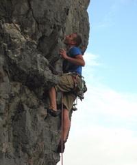 Rock and Sun Rock Climbing Holidays Rock Climbing Courses Staff Justin Nicholas_Climbing