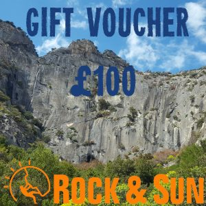 gift-voucher-Rock and Sun Climbing Courses Climbing Holidays 100