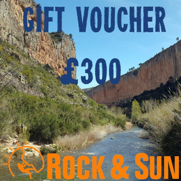 gift-voucher-Rock and Sun Climbing Courses Climbing Holidays 300