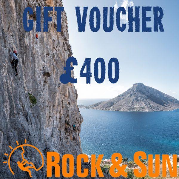 gift-voucher-Rock and Sun Climbing Courses Climbing Holidays 400