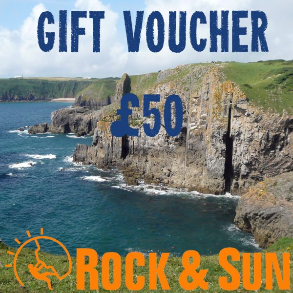 gift-voucher-Rock and Sun Climbing Courses Climbing Holidays 50