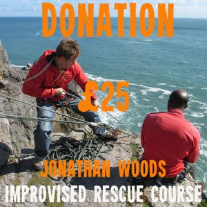 All donations will be used to fund this and future Jonathan Woods Improvised Rescue Courses