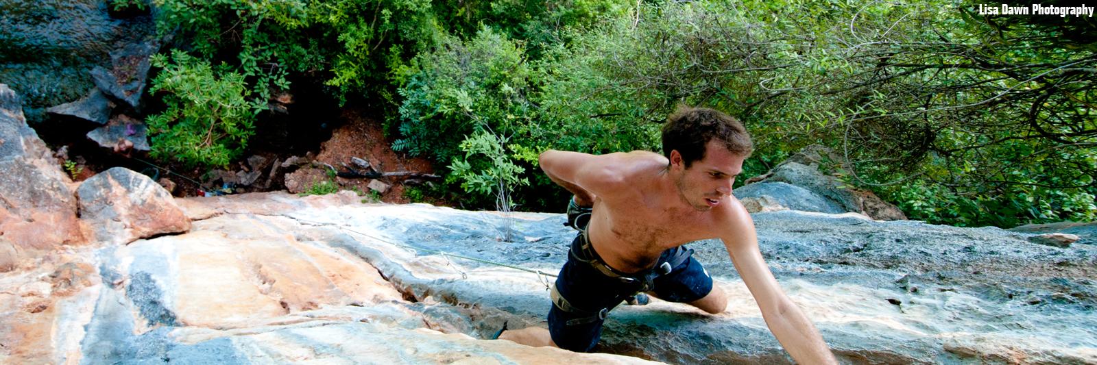 Braden Mayfield Rock and Sun Rock climbing holidays Mallorca