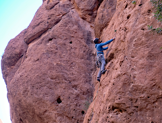 Rock and Sun Climbing Holiday Morocco